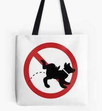 stop dog Tote Bag