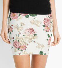 Floral Skirt  Mini Skirt