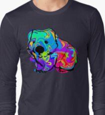 Colorful Wombat Long Sleeve T-Shirt