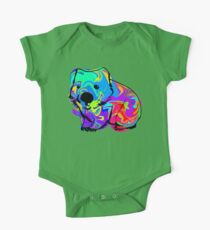 Colorful Wombat One Piece - Short Sleeve