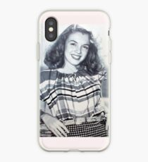 Norma Jeane Baker iPhone Case