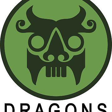 The Secret World - Dragons Logo by ESilenceDesigns