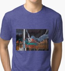 Twe Swan Reassurance Tri-blend T-Shirt