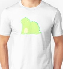 Happy Green Dinosaur Unisex T-Shirt