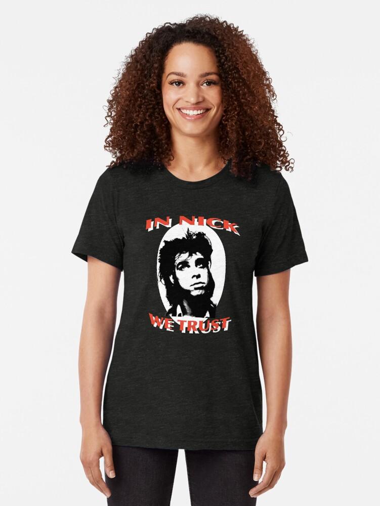 Alternative Ansicht von In Nick vertrauen wir Vintage T-Shirt