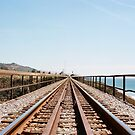 Rails Against the Sea by Tim Mannle