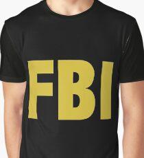the X-files FBI Dana Scully & Fox mulder Jacket Graphic T-Shirt