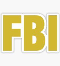 the X-files FBI Dana Scully & Fox mulder Jacket Sticker