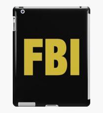 the X-files FBI Dana Scully & Fox mulder Jacket iPad Case/Skin