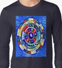 'Melting Mandala' - Colorful Abstract Tibetan Mandala T-Shirt