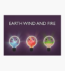 Earth wind and fire Photographic Print