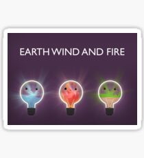 Earth wind and fire Sticker