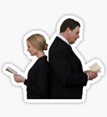 Letter to Downton Anna & John Bates Sticker