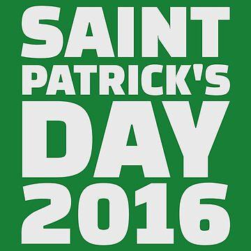 St. Patricks Tag 2016 von Designzz