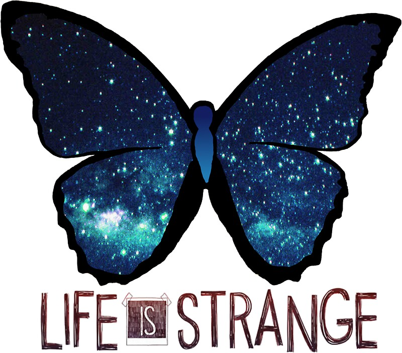 Life Is Strange Galaxy Butterfly Stickers By QueenHannahh