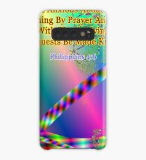 Philippians 4:6 Do Not Be Anxious About Anything Case/Skin for Samsung Galaxy