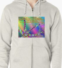 Philippians 4:6 Do Not Be Anxious About Anything Zipped Hoodie