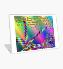 Philippians 4:6 Do Not Be Anxious About Anything Laptop Skin