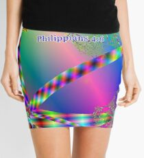 Philippians 4:6 Do Not Be Anxious About Anything Mini Skirt