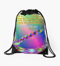 Philippians 4:6 Do Not Be Anxious About Anything Drawstring Bag