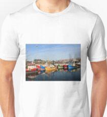 scotish harbour Unisex T-Shirt