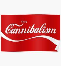 Enjoy CANNIBALISM! Poster