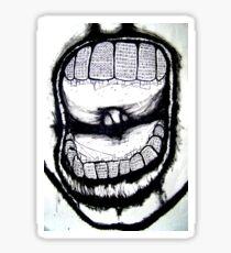 decaying city rotten teeth Sticker