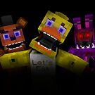 Fünf Nächte bei Freddy - Minecraft von kijkopdeklok