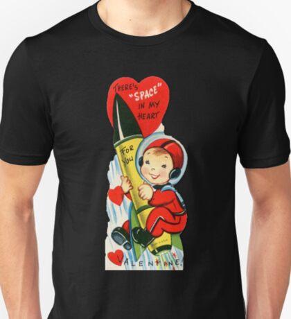 Vintage Valentine Rocket Penis T-Shirt