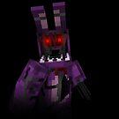 Fünf Nächte bei Freddy - Minecraft Bonny 2 von kijkopdeklok