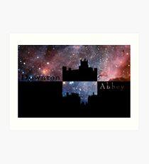 Downton Abbey Universe Art Print