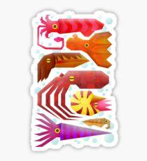 Cephalopods Sticker