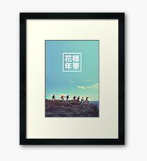 BTS + RUN #2 Framed Print