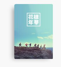 BTS + RUN #2 Metal Print