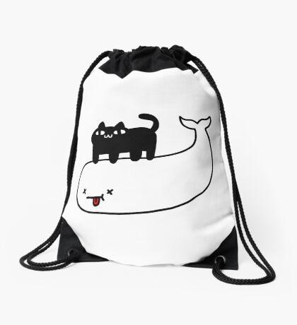 The Conqueror Drawstring Bag