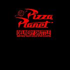 Pizza Planet Delivery Shirt by Heronemus13