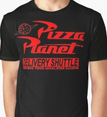 Pizza Planet Delivery Shirt Graphic T-Shirt