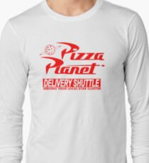 Pizza Planet Delivery Shirt Long Sleeve T-Shirt