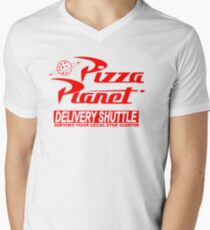Pizza Planet Delivery Shirt Men's V-Neck T-Shirt