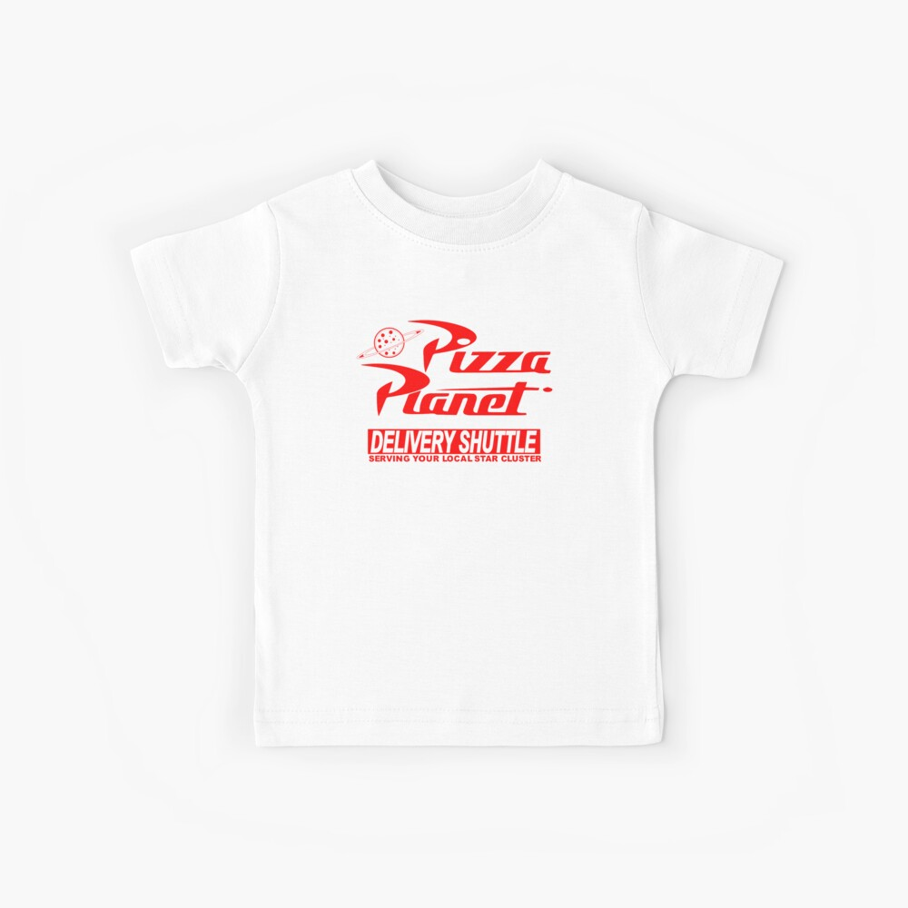 Pizza Planet Delivery Shirt Camiseta para niños