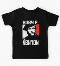 HUEY P. NEWTON-2 Kids T-Shirt