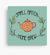 Small Batch Home Brew Canvas Print