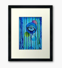 bleeding spheres Framed Print