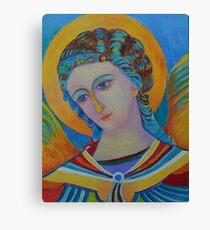 Archangel Gabriel oil painting Canvas Print