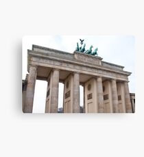 Brandenburger Tor Canvas Print