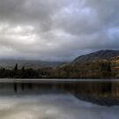 Coniston in Cloud by Jamie  Green