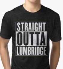 Straight Outta Lumbridge Tri-blend T-Shirt