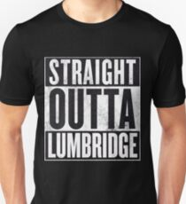 Straight Outta Lumbridge Slim Fit T-Shirt