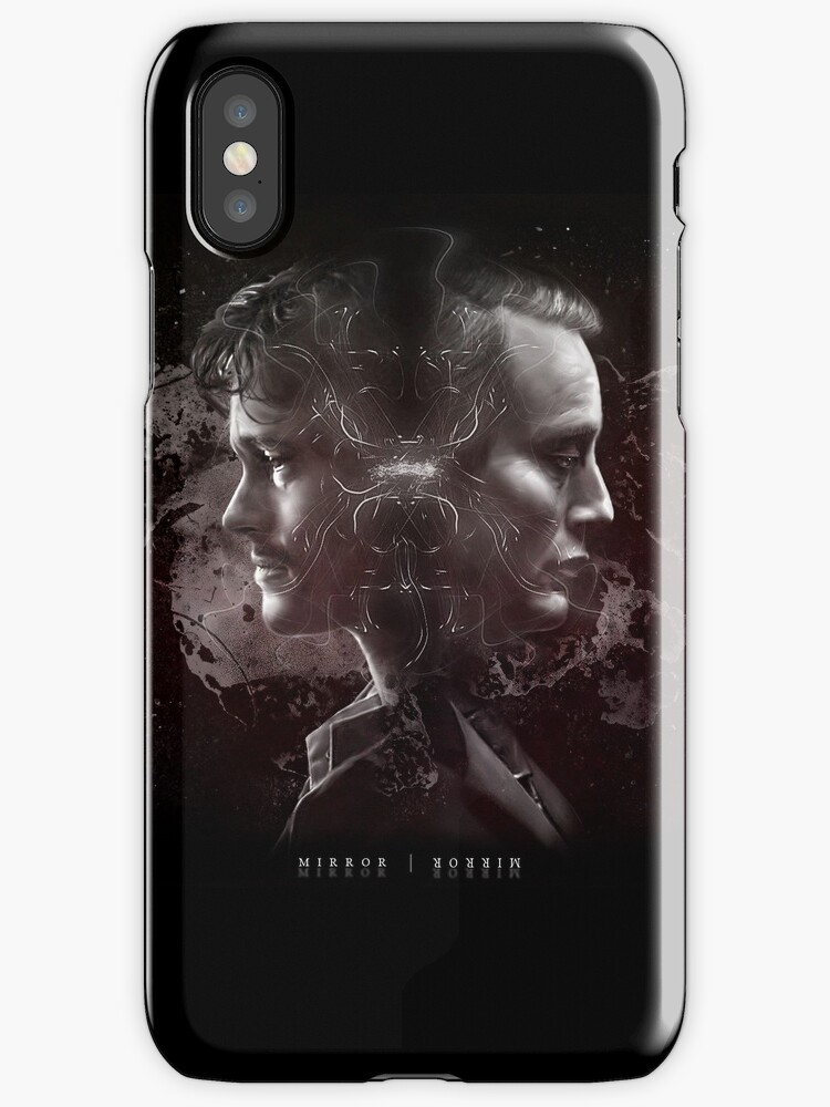Hannibal Lecter and Will Graham - Mirror by cannibalfactory