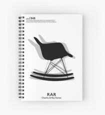 Eames Rocking Chair Spiral Notebook